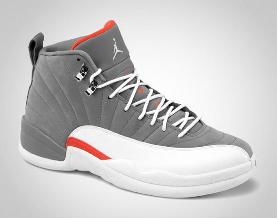 air-jordan-12-cool-grey-white-team-orange-01 ...